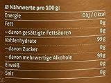 Xucker Bronxe Brauner Zucker Dose, Erythrit mit natürlichem Aroma, kalorienfreie natürliche Rohrzucker-Alternative, 1er Pack (1 x 1 kg)