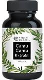 Camu-Camu Kapseln - Natürliches Vitamin C - 180 vegane Kapseln für 6 Monate - Laborgeprüft, ohne unerwünschte Zusätze
