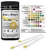 Gesundheitstest für Keton 100 Stück mit Referenzfarbkarte