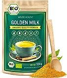 Bio Goldenen Milch 300g für Smoothie und Latte - mit Kurkuma