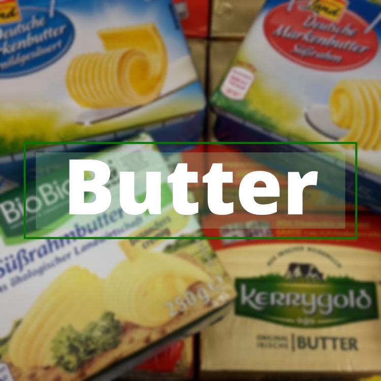 Alle Fakten über Butter