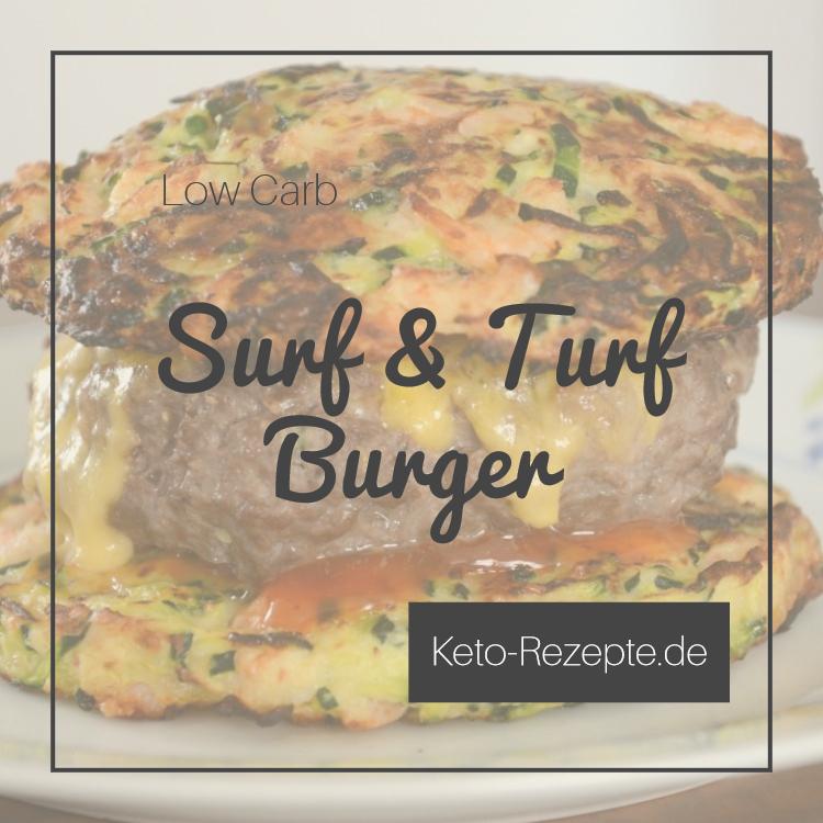 Keto Surf n Turf Burger Titelbild