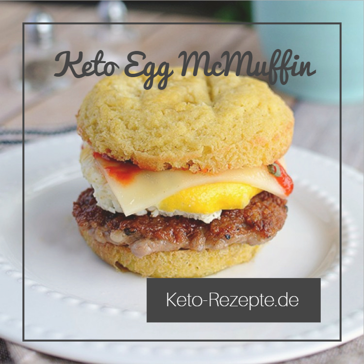 Lowcarb Variante des McDonalds Egg McMuffin