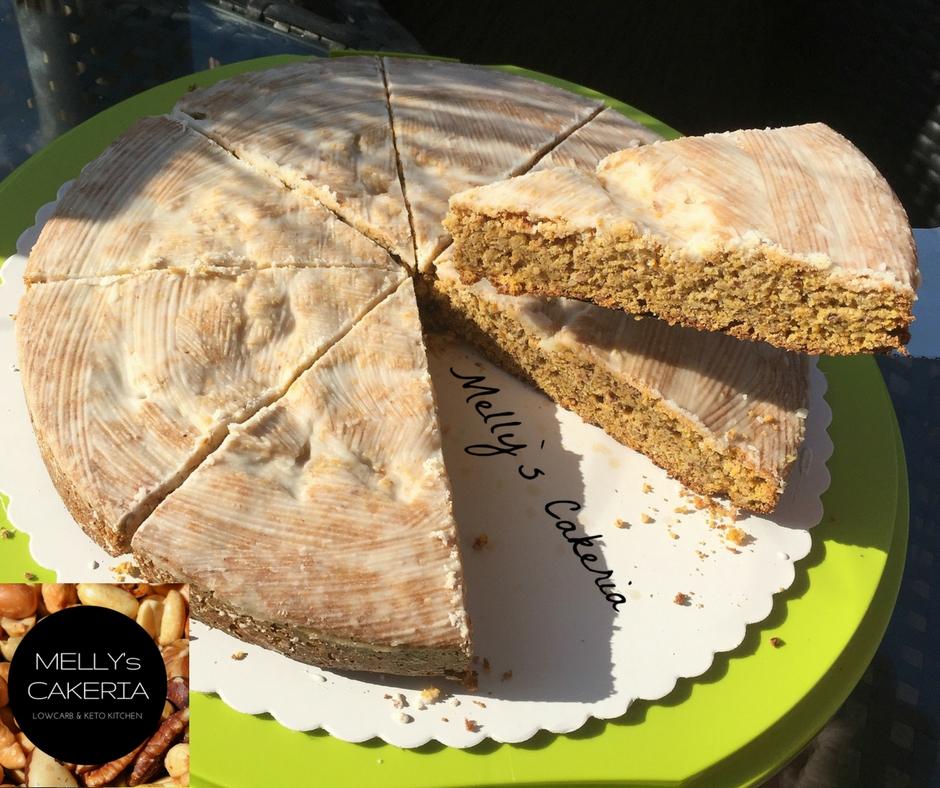 LowCarb Möhrchenkuchen