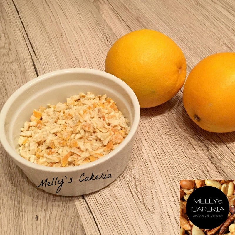 Keto Orangeat und Zitronat