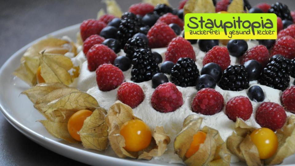 Die besten Low Carb Desserts: Low Carb Joghurt Bombe