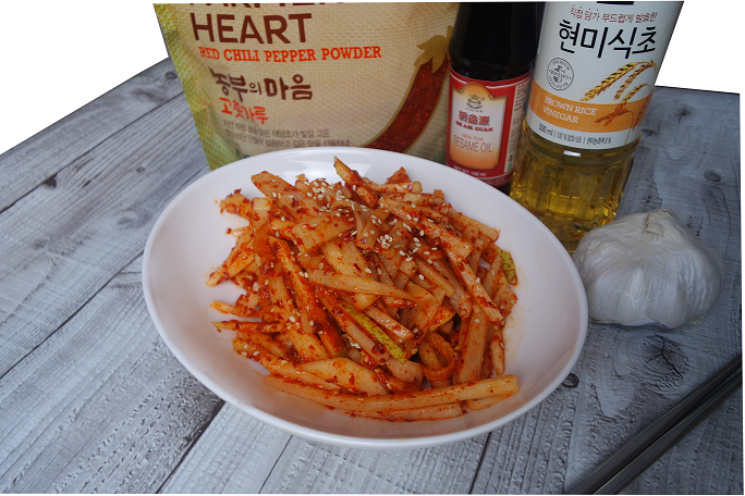 Low Carb Rettich Salat Koreanischer Art
