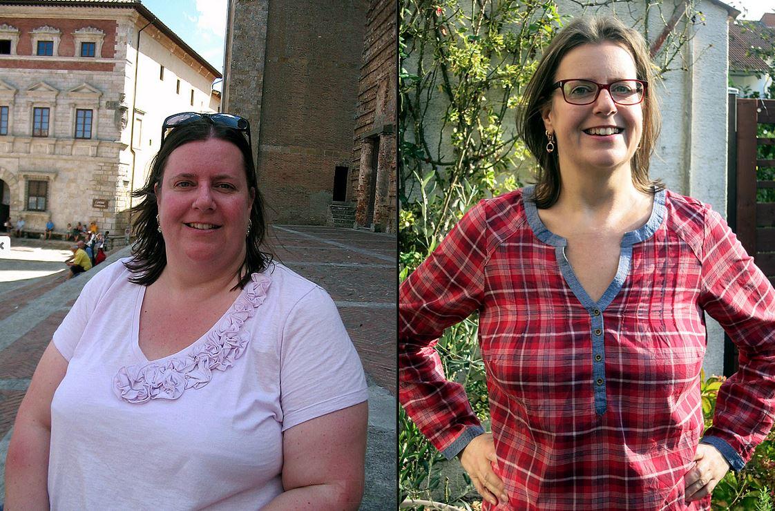 Betti von Happycarb.de vorher und nachher