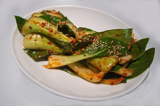 Keto gen Pak Choi Salat koreanisches Rezept