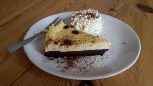 Von hungerfreude.com nachgemachter Cheesecake