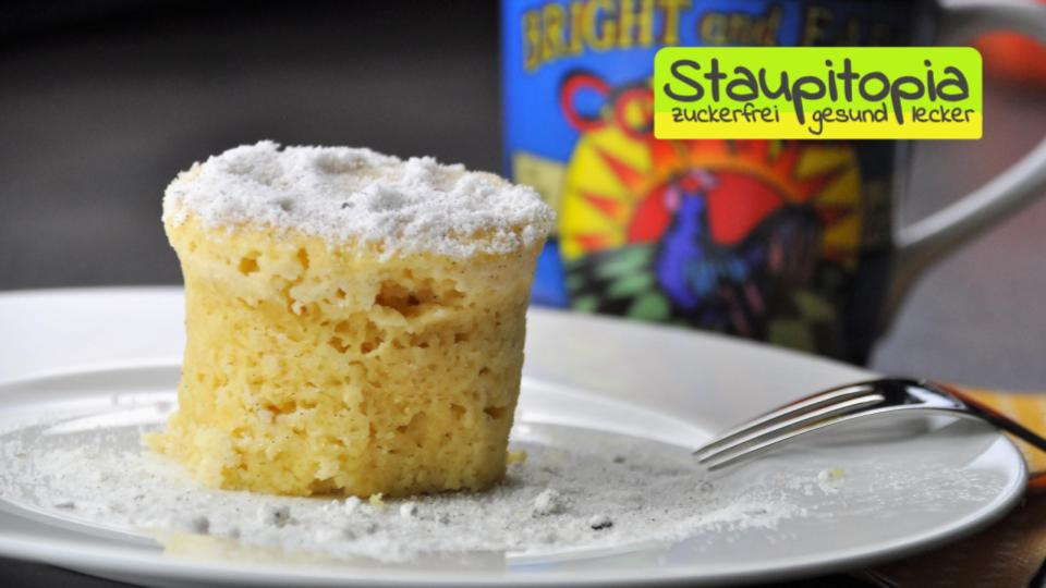 Low Carb Tassenkuchen Vanille Hungerfreude Ketogene Low Carb