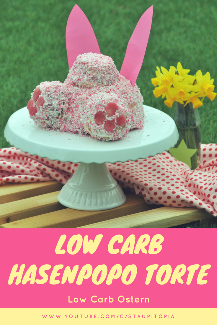 Low Carb Hasenpopo Torte
