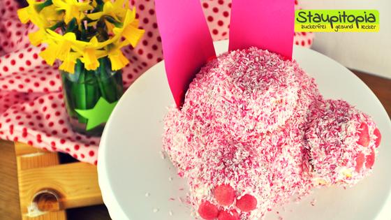 Hasenpopo Torte: Die niedliche Low Carb Torte für Ostern