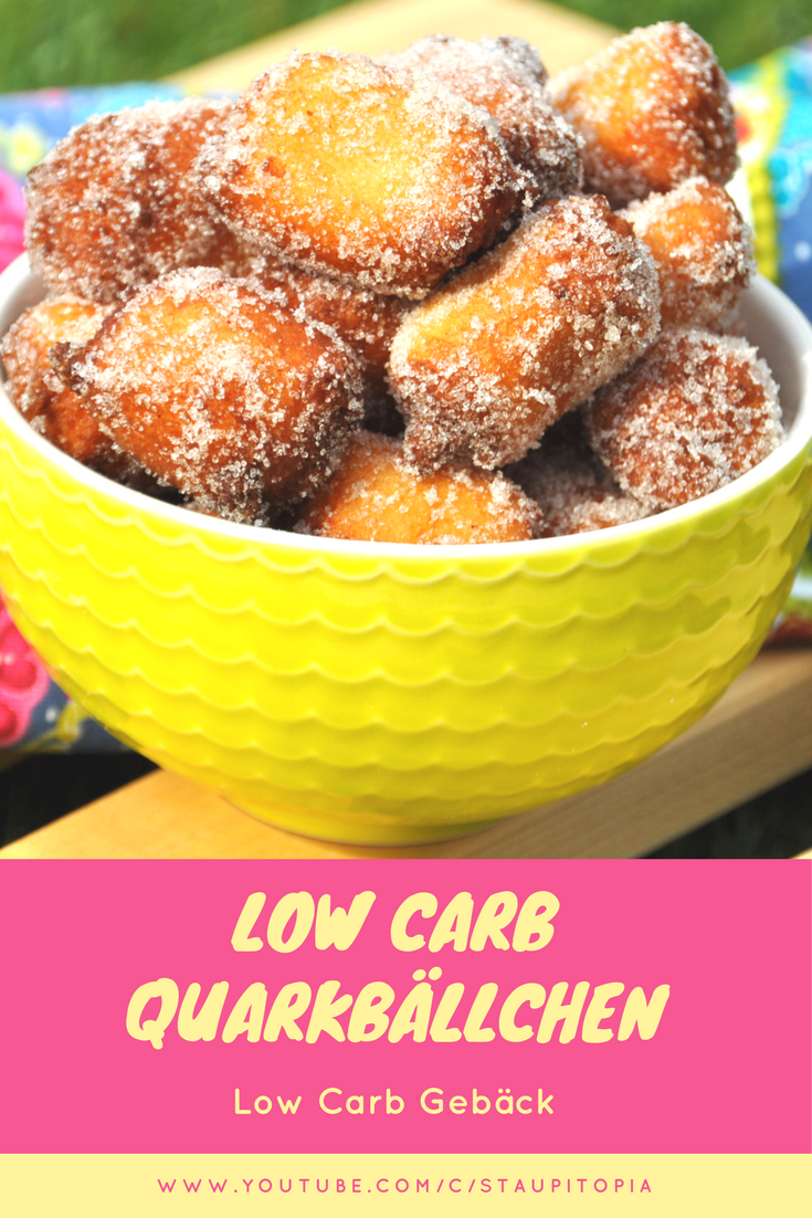 Low Carb Quarkbällchen