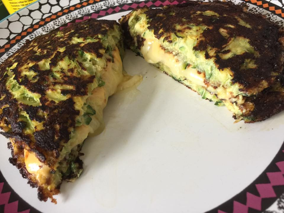 Low Carb Grilled Cheese