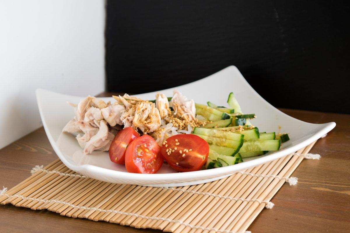 Shirataki Null Kalorien Nudeln nach japanischer Art