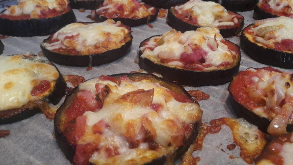 Fertige Keto Mini Pizza