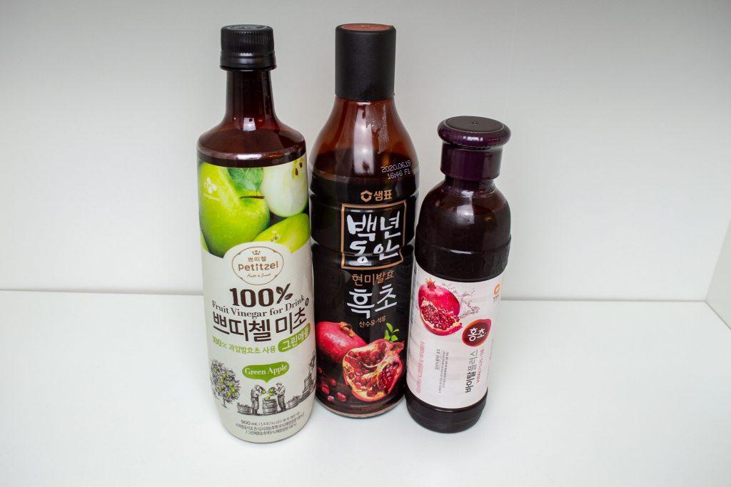 Fruchtessig aus Korea
